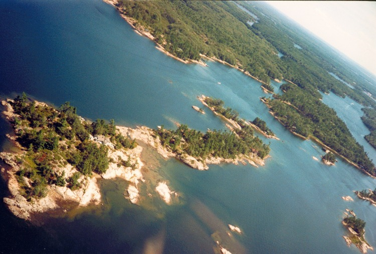 Wahnuhke Island. (J. Chisholm photo)